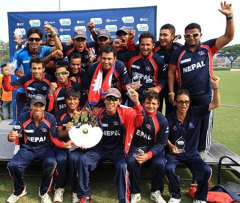 Nepal celebrates stunning win against Afghanistan