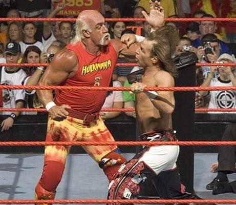 Hulk hogan vs shawn michaels