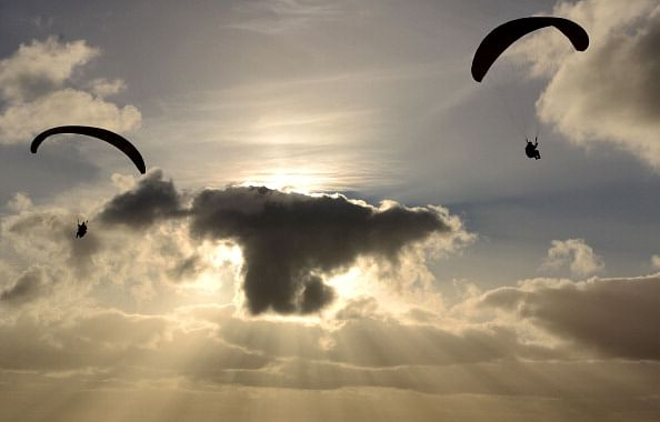 Take a wild paragliding ride around the world