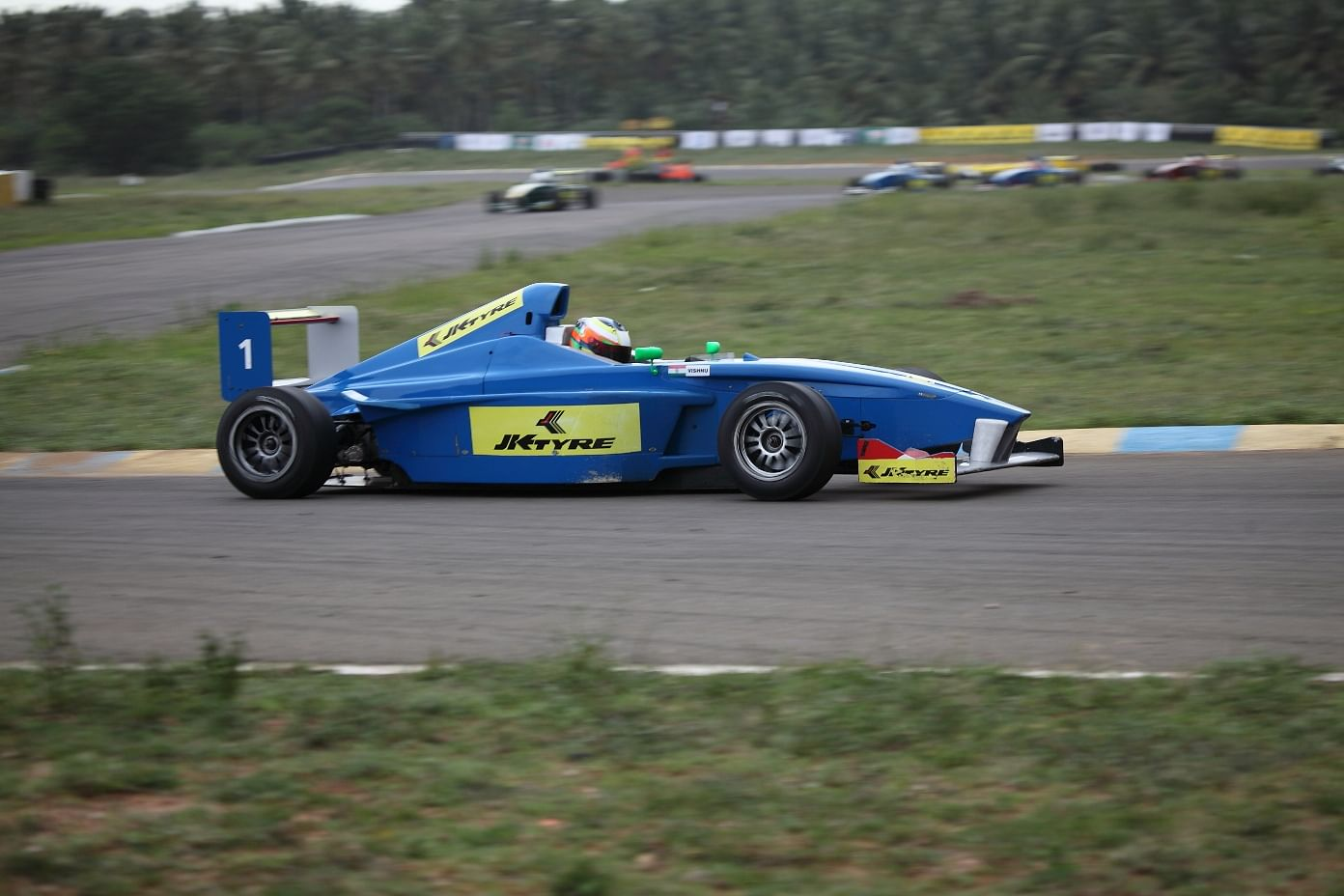 Jk Tyre Racing Bright Start For Vishnu Prasad In Round 2