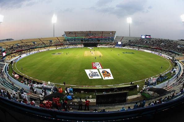 Rajiv Gandhi International Cricket Stadium, Hyderabad