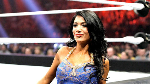 image Wwe diva rosa mendes ass exposed on live tv Part 4