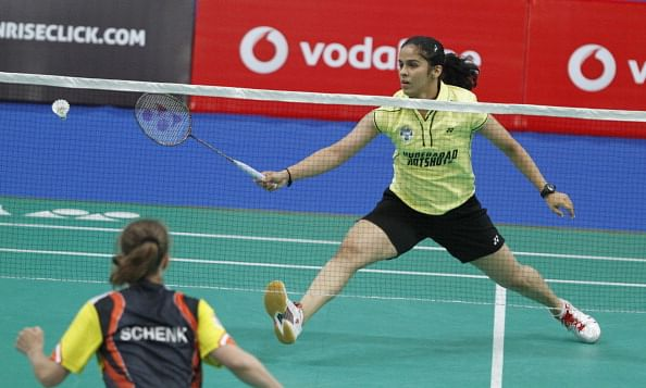 Badminton Player Saina Nehwal Player Saina Nehwal Plays