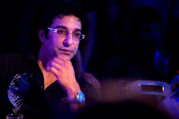 Wasim Akram to be father again