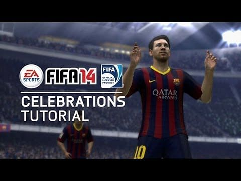 Video: FIFA 14 - All new celebrations tutorial