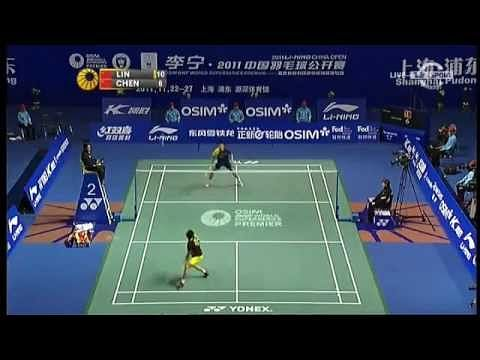 Video: Lin Dan's amazing trick