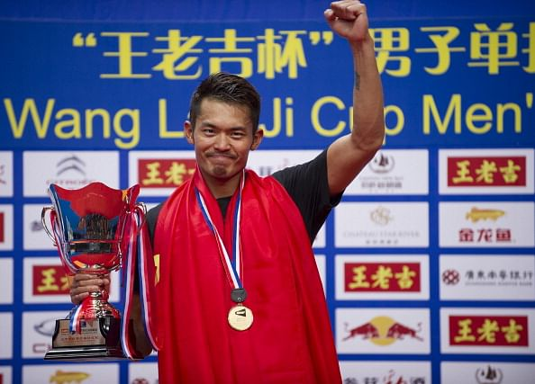 Lin Dan sails into last eight at Chinese National Games
