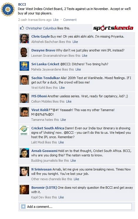 BCCI FB Wall