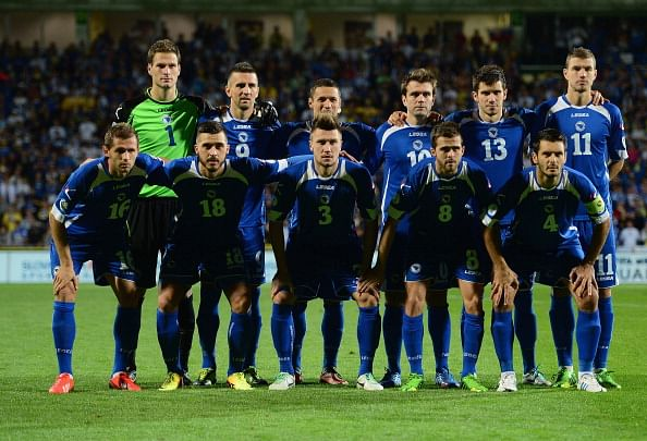 Bosnia Herzegovina name World Cup squad: Only 2 strikers & include the managers nephew!