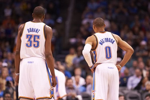 Kevin Durant and Russell Westbrook - NBA's best two punch duo?