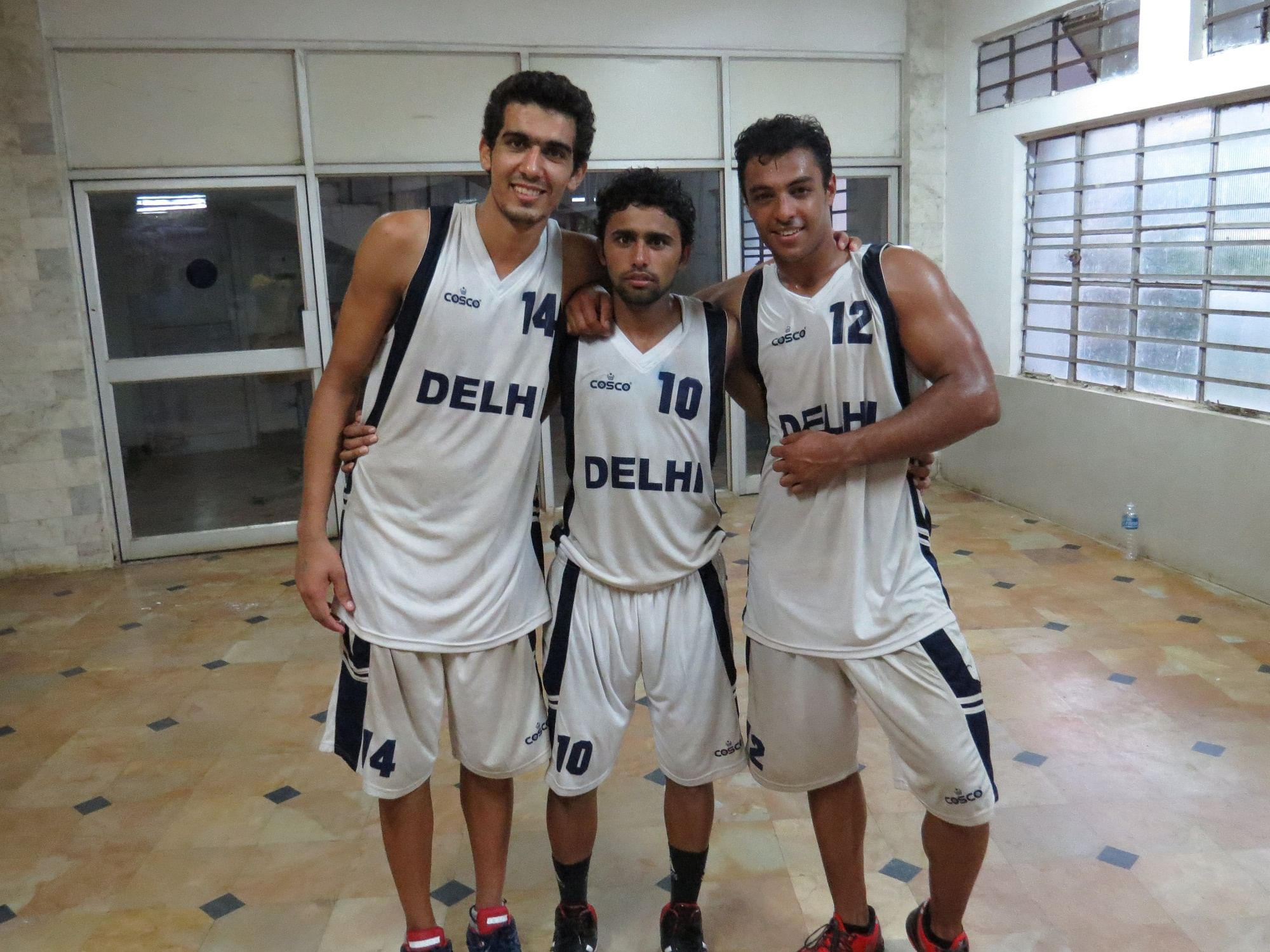 Delhi's Pankaj Rathee (14), Narender (10) and Sohal Singh (12). (Image Courtesy: Clint Furtado/BFI)