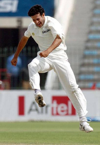 Indian pace bowler Irfan Pathan