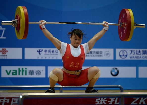 Li Yajun surpasses weightlifting world record