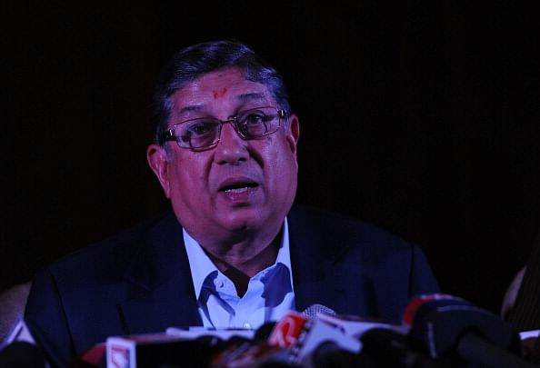 Plea seeking injunction against Srinivasan filed