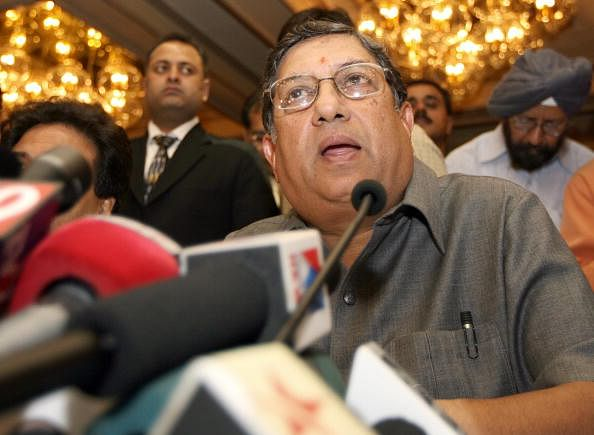 N. Srinivasan re-elected as BCCI president