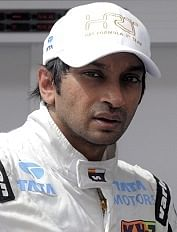 HRT F1 Team's Indian driver Narain Karth