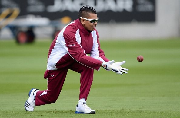 Sunil Narine and his Mohawk