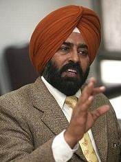 Pargat Singh At A press Conference