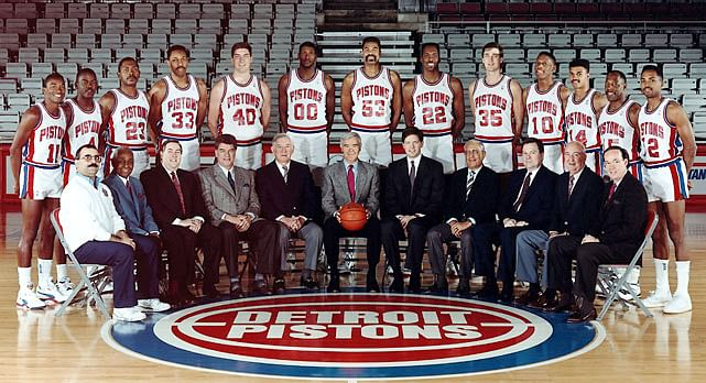 The Roller Coaster ride of Detroit Pistons