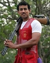 Rajyavardhan Singh Rathore, an Indian shooter who won the first individual silver medal for the country in 2004 Summer Olympics, at his Polo Road house, New Delhi.