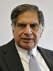 Tata Group Chairman Ratan Tata speaks with Bloomberg News Ma