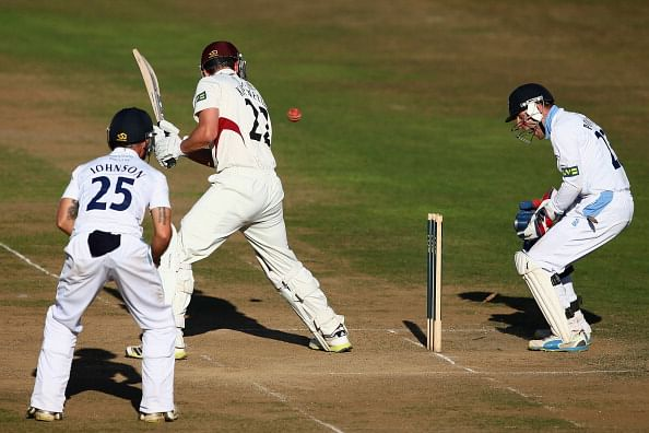 Somerset v Derbyshire: Day 2
