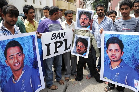 INDIA-CRIME-CORRUPTION-CRICKET-SREESANTH