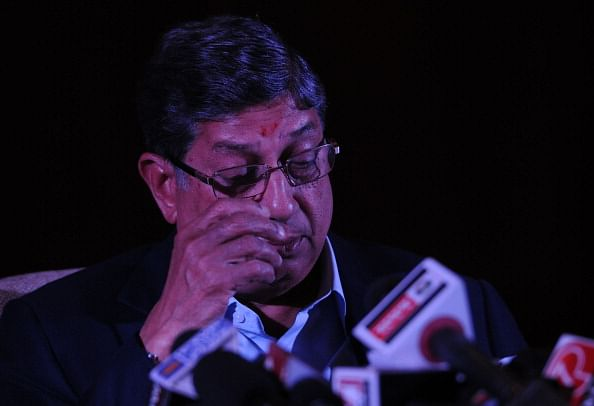 N. Srinivasan's third term as BCCI chief under threat