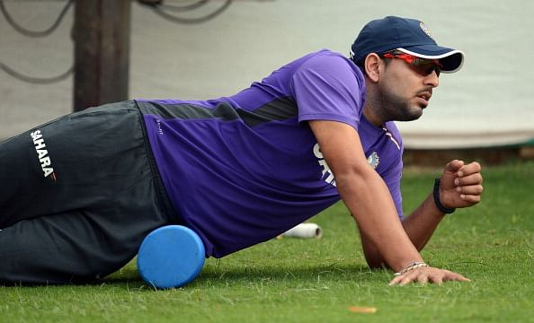Yuvraj Singh - the lion is ready to roar again!