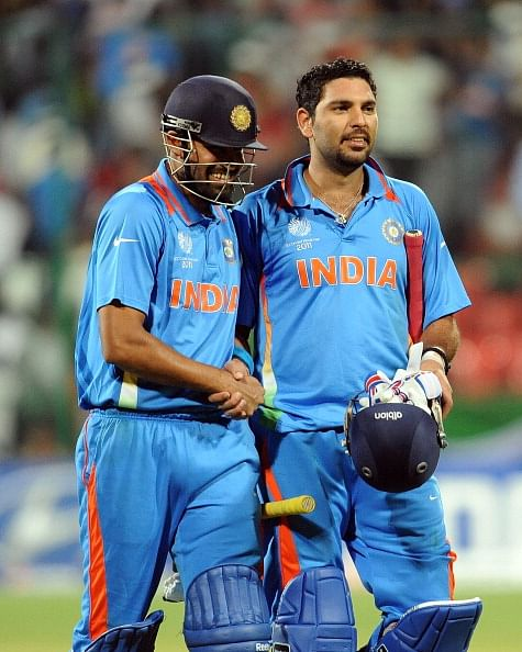 Yuvraj Singh and Yusuf Pathan star in India A's thumping win over West Indies A in 1st unofficial ODI