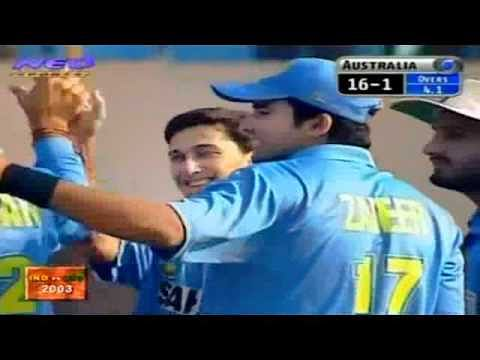 Video: Ajit Agarkar's best yorker ever