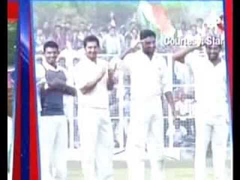 Guard of Honour For Sachin Tendulkar - Farewell Ranji Match