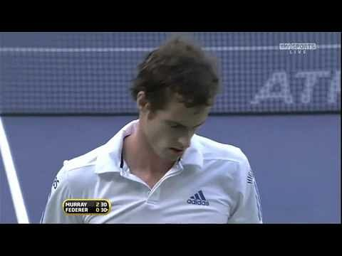 Video: Andy Murray's 159 km backhand