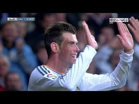 Video: Gareth Bale's individual highlights vs Sevilla