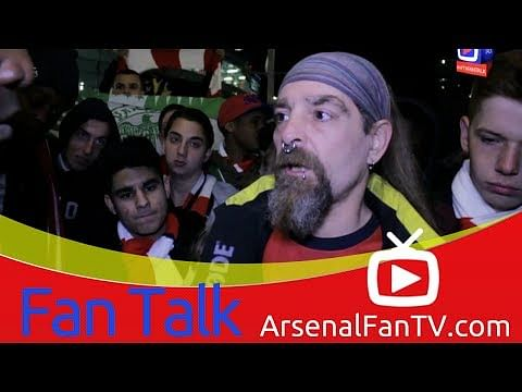 "Video: ""Bendtner is not fit to wear the Arsenal shirt,"" - Arsenal fan"