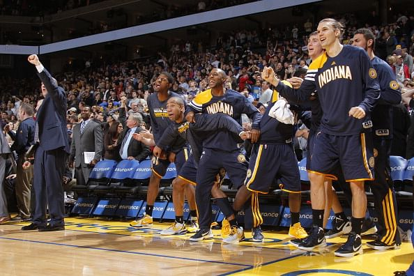 Indiana Pacers becomes first NBA franchise to sell on-court advertising