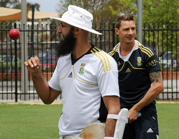Hashim Amla and Dale Steyn