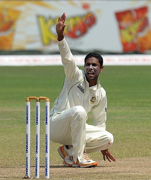 Sohag Gazi bags hattrick during Bangladesh's Test against New Zealand