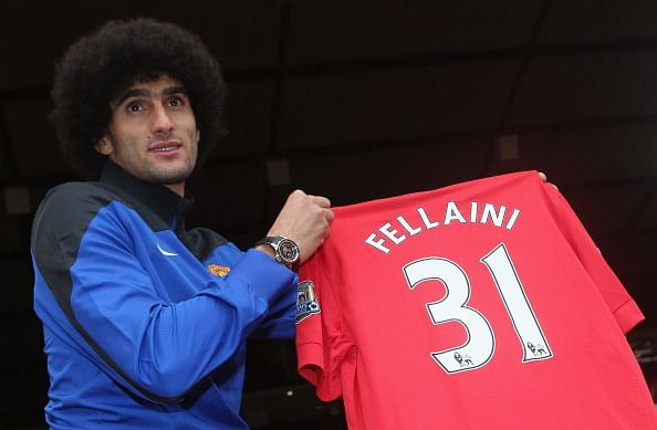 I was an Arsenal target, reveals Marouane Fellaini