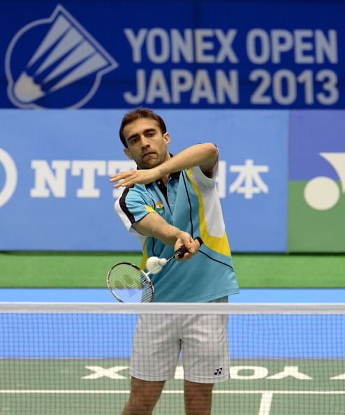 Hopes of the nation: Anand Pawar at Yonex Dutch Open 2013