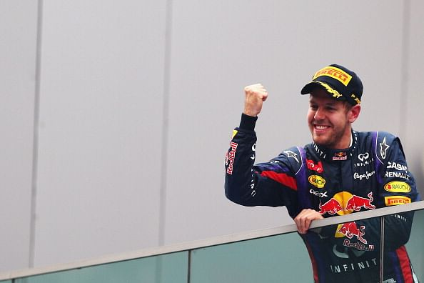 Vettel, Red Bull clinch titles at Indian GP