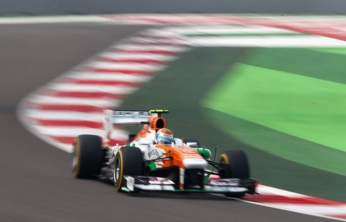 Indian GP: Adrian Sutil- One stop risky but worth a try