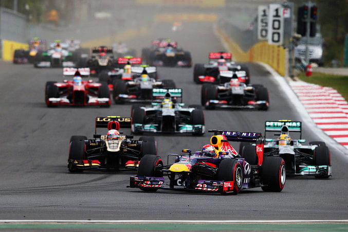 Top 10 Tweets from the Korean Grand Prix