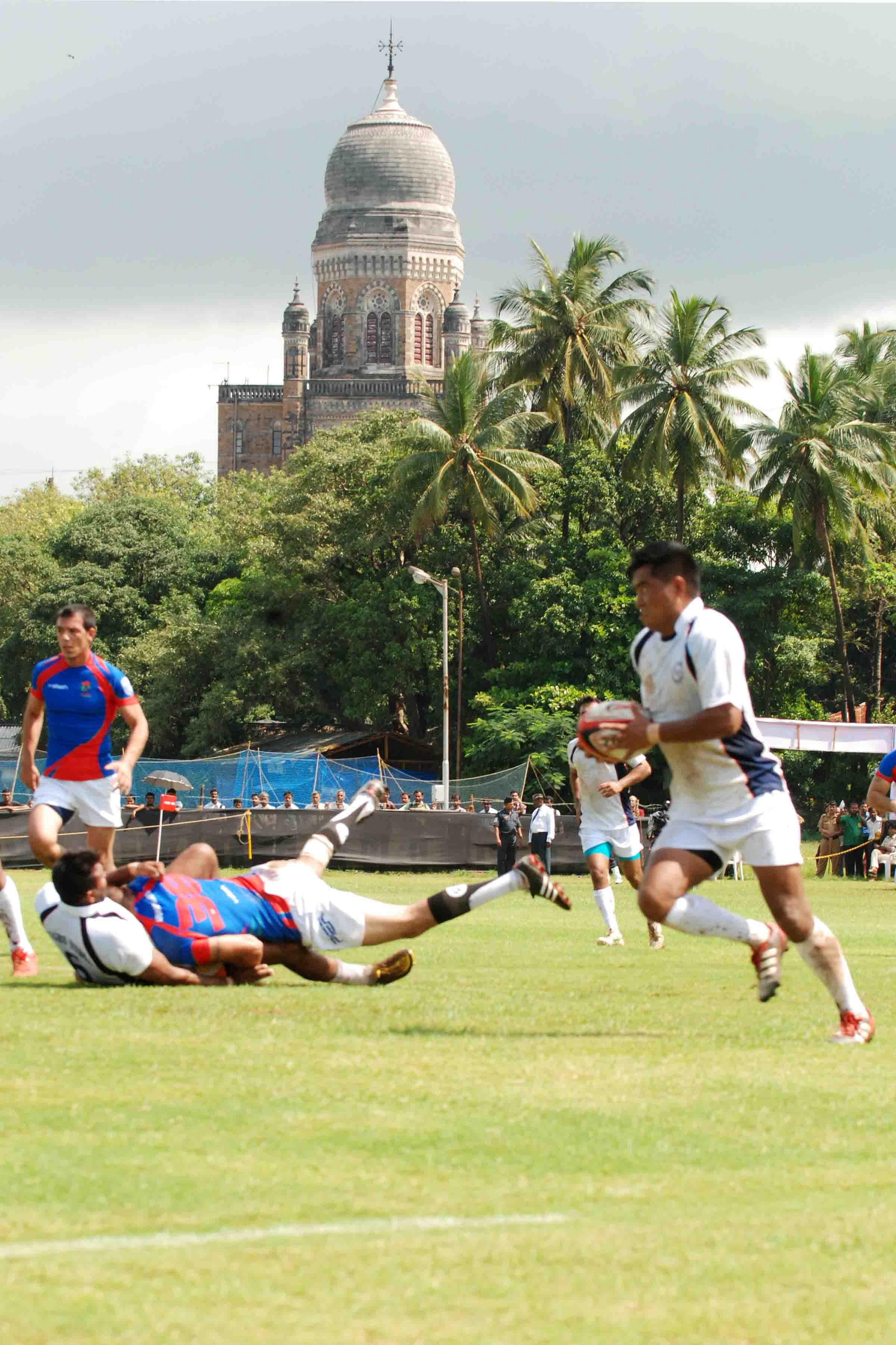 India face Kazakhstan in Bowl Quarter Finals of HSBC Asian Sevens Series' India Sevens
