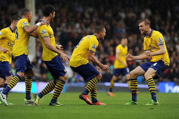 Arsenal weekly round-up: 20th October, 2013 to 27th October, 2013