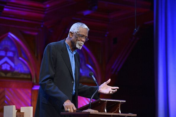 Bill Russell arrested at airport for carrying a gun