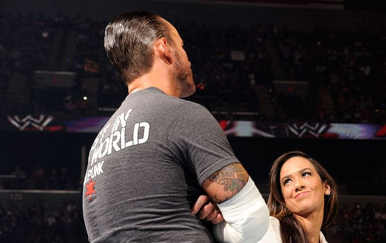 Who is cm punk really dating