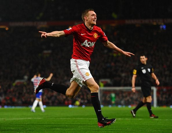 Darren Fletcher turns out for Manchester United for the first time in nearly 10 months