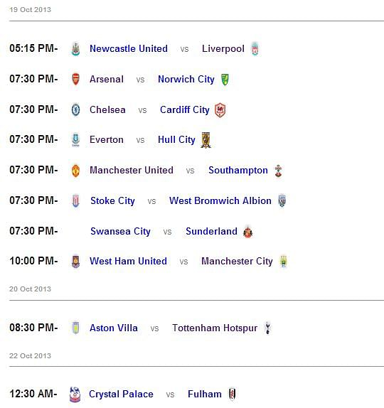 Epl gameweek 1 fixtures loan deals epl fixtures