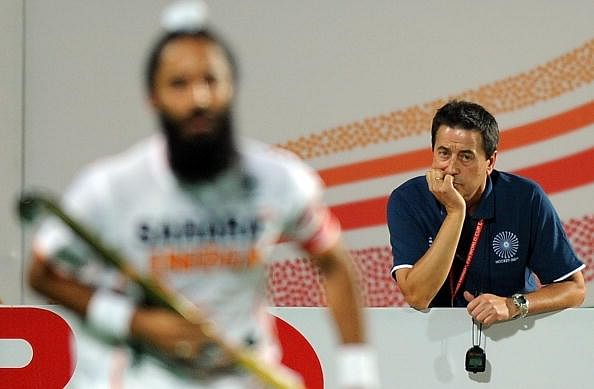 Indian players always play under extra pressure - Jose Brasa, former Indian hockey coach